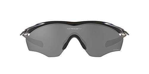 OO9343 M2 Frame XL Sunglasses, Matte Black/Prizm Black Polarized, 45mm