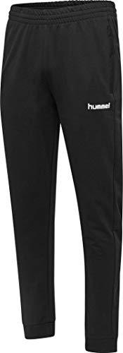 Hummel Hmlgo Cotton Nt - Pantalón Deportivo para Hombre, Hombre, Pantalones, 203530-2001, Negro, Small