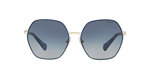 Ralph Lauren RALPH BY 0RA4128 Gafas de sol, Light Gold Top Brown, 54 para Mujer