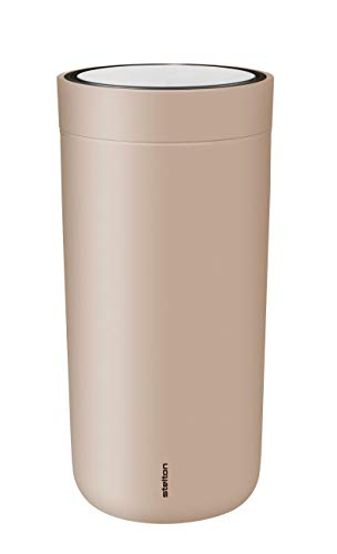 Stelton to go click Thermobecher aus Stahl, lavender, 0.4l