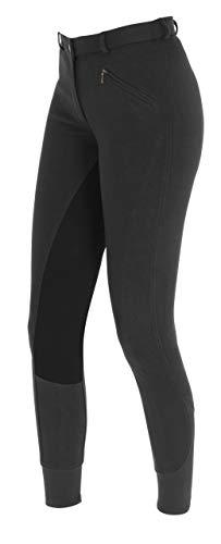 PFIFF - Economic, Pantaloni da equitazione da donna, Nero (nero), 44