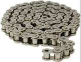 #120 Heavy Duty Roller Chain 10 Ft, With 1 Connecting
