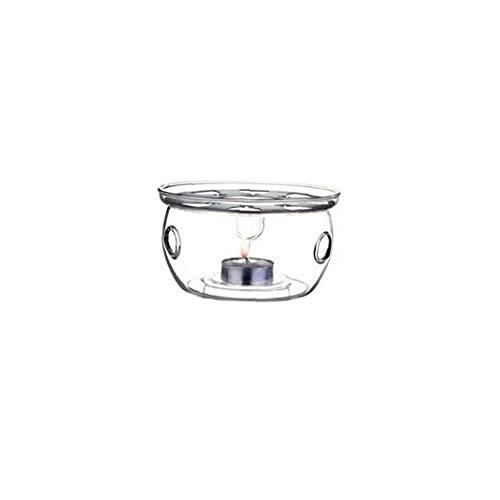 jieerrui High Heat Resistant Teapot Borosilicate Thicken Glass Teapot Warmer Heating Base Set Tea Pot Tea Light Heater Teapot