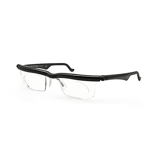 Focus Adjustable Eyeglasses Adlens Lens -4D to +5D Diopters Myopia Magnifying Reading Glasses Variable
