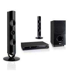 LG HT44M cine en casa - Equipo de Home Cinema (DVD player, 135 W, 170 W, 360 x 313 x 62.5 mm, 28000 g, 47000 g)