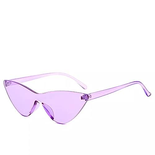 YTYASO Gafas de Sol Tipo Ojo de Gato con Gafas de Sol de Montura Grande Gafas de Sol Color Caramelo