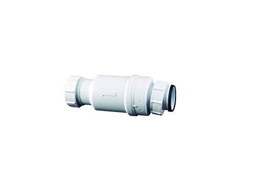 Mcalpine Siphon, trocken, Weiß