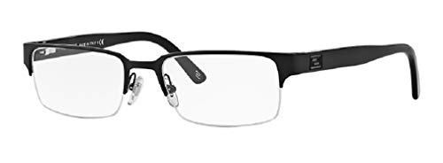 Versace VE1184 1261 53M Matte Black Rectangle Eyeglasses For Men+FREE Complimentary Eyewear Care Kit