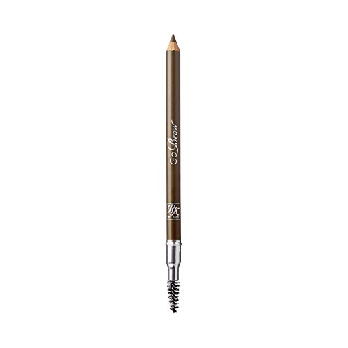 Ruby Kisses Go Brow Eyebrow Wooden Pencil w/Sharpener (Chocolate Brown) RBWP03-3 pack