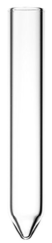Zentrifugengläser, Durchmesser 16 mm x 100 mm, starkwandig, 60 Grad, konischer Boden, Borosilikatglas 3.3, komplette Verpackungseinheit, 15 mL