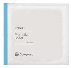 Coloplast 32105 Brava Protective Sheets - 4 x 4 in. (10 x 10 cm) (10/Pack)