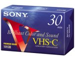 Discover Bargain Sony VHS-C Camcorder Cassettes 30 Minute (5-Pack) (Discontinued by Manufacturer)