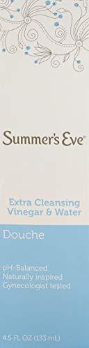 Summer's Eve EXTRA VINAIGRE NETTOYANT et EAU 2 4,5 oz/PACK