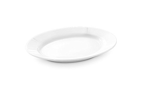 Rosendahl GC Assiette ovale Blanc 30 x 23 cm