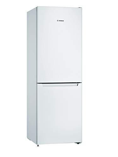 Bosch KGN33NWEAG Serie 2 Freestanding Fridge Freezer, No Frost, MultiAirFlow, FreshSense, MultiBox and Reversible Doors, 176cm, 279L capacity, 60cm wide - White