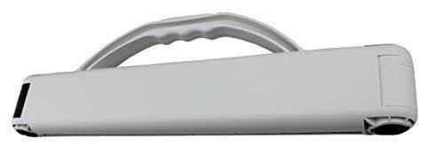 Tragfix Classic Die perfekte Tragehilfe- Tragegriff- Verschluß und Lagervorrichtung Blau für Säcke bis max. 20kg Made in Germany (Weiß)