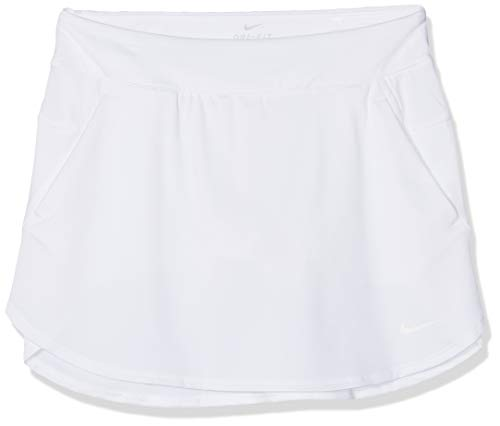 Nike Dri-Fit - Gonna da Golf da Ragazza, Bambina, Gonna da Golf, AJ5287-100, Bianco, L