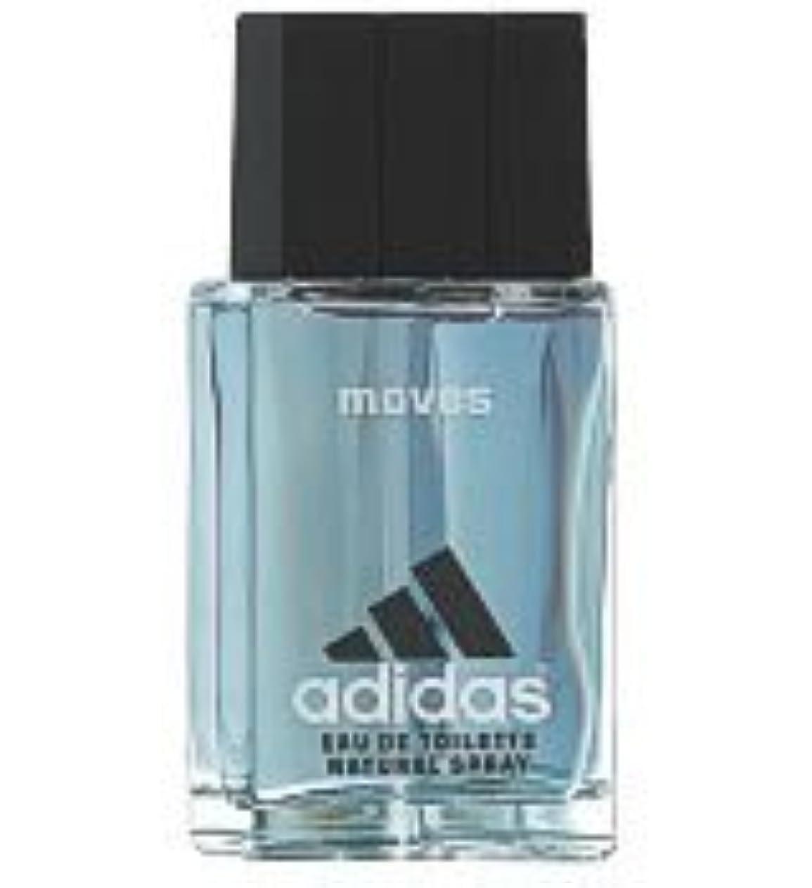 電圧寝てる航海のAdidas Moves (アディダスムーブス) 1.0 oz (30ml) EDT Spray by Adidas for Men