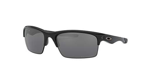 Oakley Bottle Rocket Polarized Sunglasses Polished Black/Black Iridium, One Size - Men's