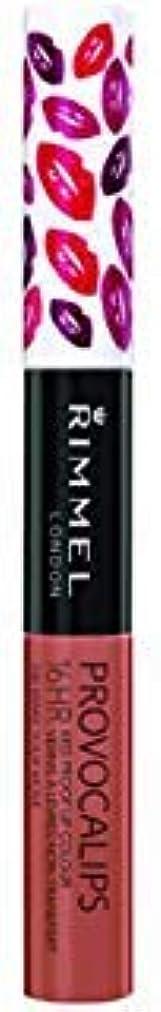 担保しっとり道を作る(3 Pack) RIMMEL LONDON Provocalips 16Hr Kissproof Lip Colour - Make Your Move (並行輸入品)