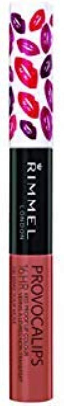 葉を拾うダイバー符号(3 Pack) RIMMEL LONDON Provocalips 16Hr Kissproof Lip Colour - Make Your Move (並行輸入品)