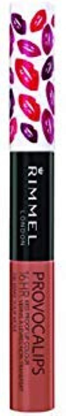 肌流産重なる(3 Pack) RIMMEL LONDON Provocalips 16Hr Kissproof Lip Colour - Make Your Move (並行輸入品)