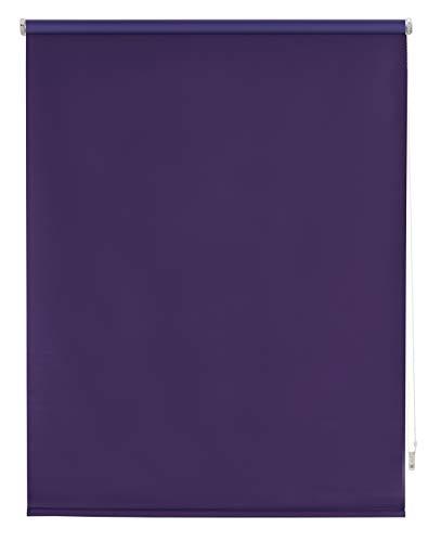 Blindecor Draco Estor Enrollable Blackout Liso, Violeta, 100 x 230 cm