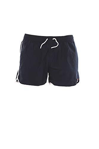 FILA Badehose Herren SATOMI Swim Shorts 687560 170 Black Iris Dunkelblau, Größe:XL