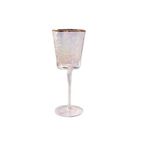 chenchen Creative Phnom Penh Crystal Glass Pequeñas Copas de Vino Gafas Champagne Europeo Tall Tierra Copas de Vino Copas de Vino Tinto (Color : 11)