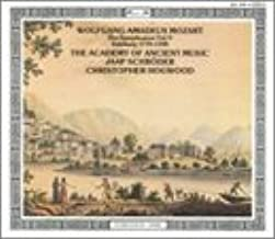 Wolfgang Amadeus Mozart: The Symphonies Vol. V, Salzburg 1775-1783 - The Academy of Ancient Music / Christopher Hogwood