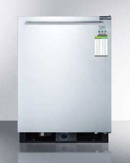 Accucold FF590SSHHPLUS2 24 in. Frost Free Built-in All Refrigerator with Digital Thermostat & Thermometer