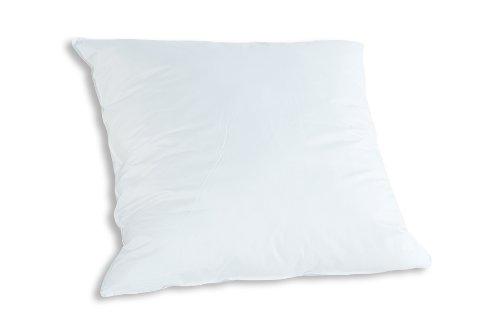 Badenia Bettcomfort Kopfkissen Trendline Comfort mit Baumwollbezug, 80 x 80 cm, weiß