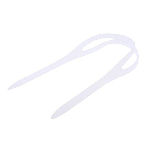 MagiDeal Universal Silikon Ersatzband für Taucherbrille Schwimmbrille Schnorchelmaske, Tauch- und Schwimmmasken - Klar