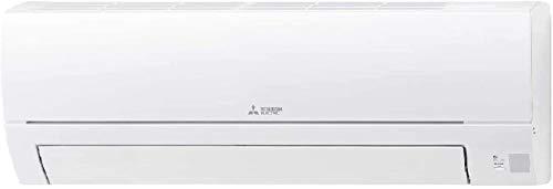 Mitsubishi Climatizzatore Condizionatore DC Inverter Monosplit R32 Telecomando MSZ-HR25VF 9000 BTU + Tubi Rame Coppia 1/4' + 3/8' (8 Metri (8+8))