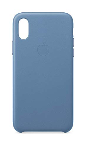 Apple Custodia in Pelle (per iPhone XS) - Fiordaliso