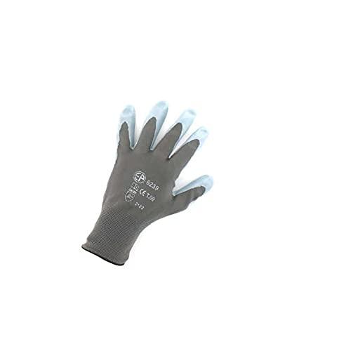 Gants Polyamide gris paume nitrile Taille L/9 EP 6239