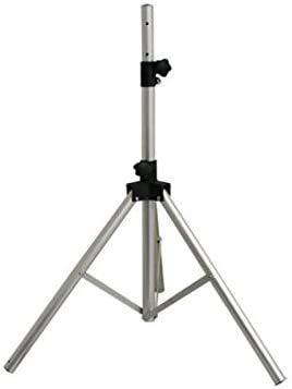 HDLINE sat stativ Dreibein Stativ Alu Sat Dreibeinstativ für Satellitenschüssel - für Camping Balkon Terasse als Halterung Aluminium Tripod Ständer Balkonständer