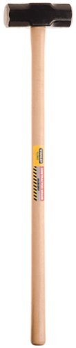 Stanley 56-808 8-Pound Hickory Handle Sledge Hammer