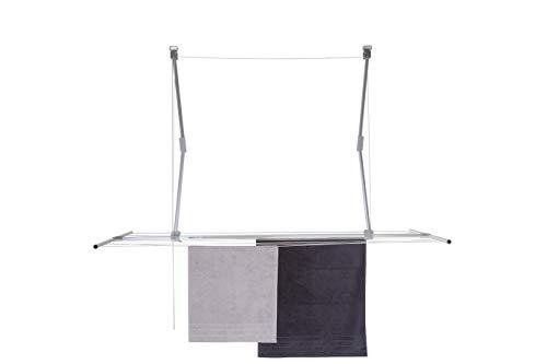 stewi Lift deckentrockner Secadora para el Techo, Aluminio, Plata, 128–184cm x70cm X 18–110cm