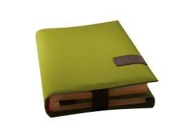 BookSkin, (Nylon) lind-grün