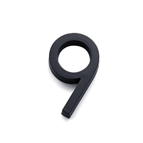 HWNGDI Dígitos de la Puerta 0 a 9 PLÁSTICO NÚMERO DE PLÁSTICA...