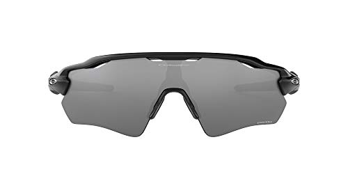 Oakley Men's OO9208 Radar EV Path Shield Sunglasses, Polished Black/Prizm Black, 38 mm