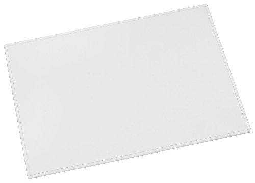 Läufer 38080 - Ambiente SCALA Schreibunterlage 45 x 65 cm, aus echtem Leder, weiß