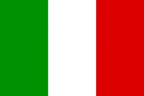 Aufkleber Fahne von Italien Flaggen Sticker Autoaufkleber