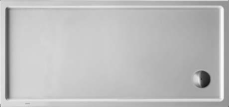 Duravit Duschwanne Starck Slimline 1500x700x 55mm, Rechteck, weiss, 720127000000000