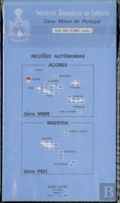 Carta Militar de Portugal (esc.1:25 000) nº 363 - ABRIGADA