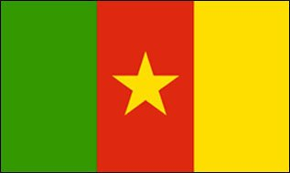 Kamerun Fahne Flagge XXL Grösse 1,50 x 2,50m - FRIP –Versand®
