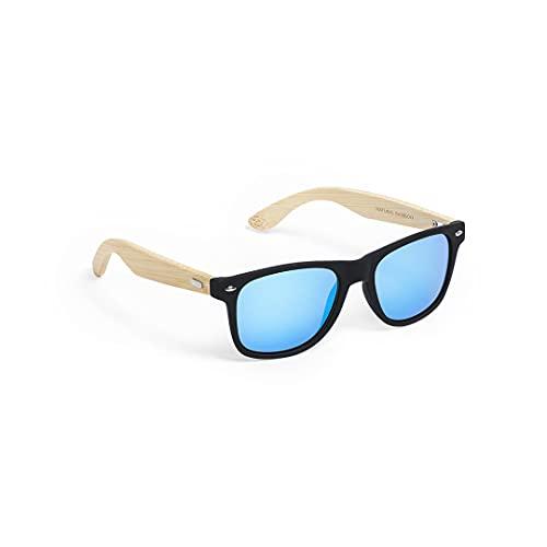 Gafas de sol ecológicas, fabricadas con fibra de bambú, gafas con estilo unisex, gafas de sol para hombre y mujer, gafas estilo retro, clásico (Ecológicas)