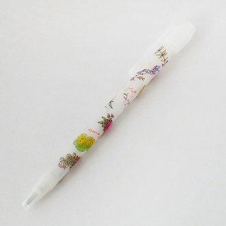 六花亭 花柄ボールペン