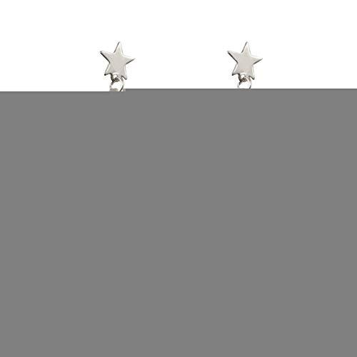 BLINGBRY eenvoudige sterren geometrische kwast oorbellen vrouwelijke populaire vijfpuntige ster Sticks oorbellen mode straat schieten datering sieraden